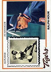 1978 Topps #684 Ralph Houk MG