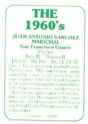 1978 TCMA 60'S I #2 Juan Marichal back image