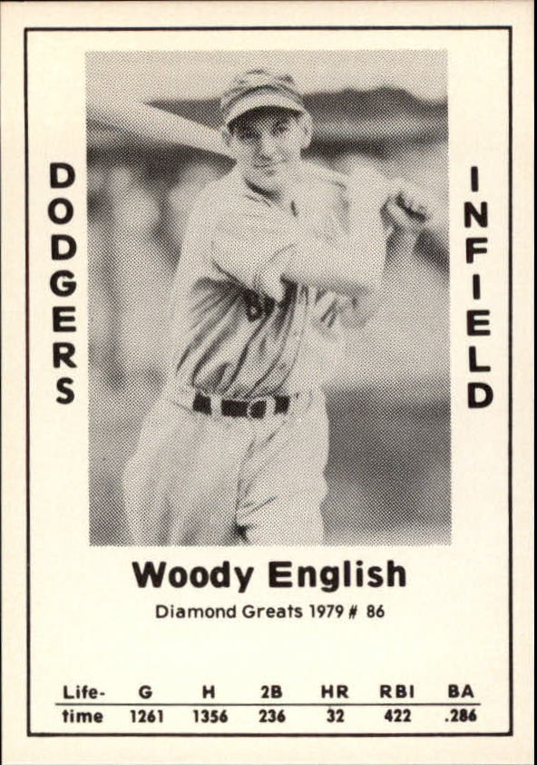 1979 Diamond Greats #86 Woody English
