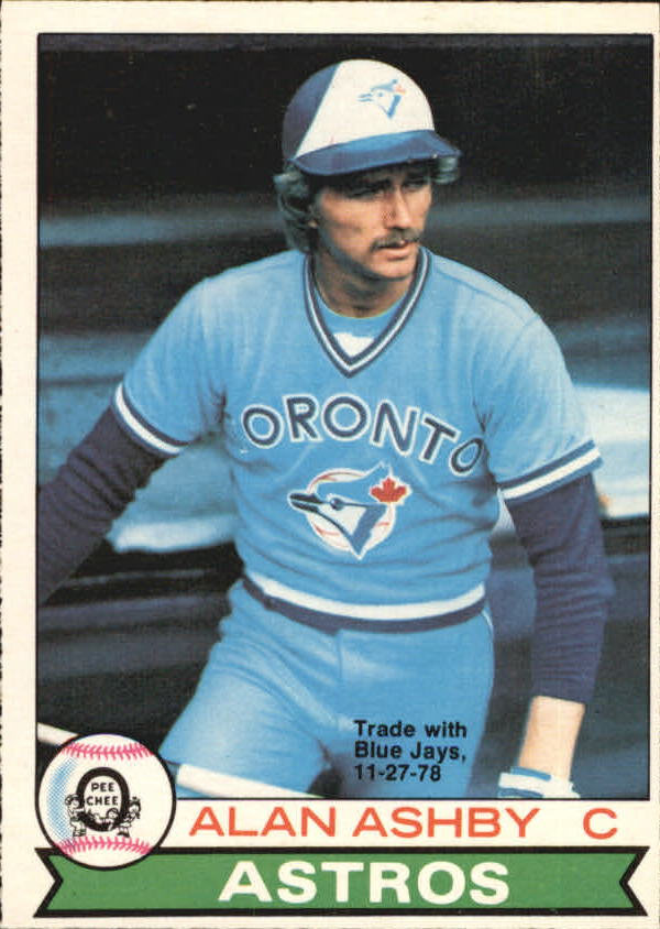 1979 O-Pee-Chee #14 Alan Ashby/Trade with Blue Jays 11-28-78