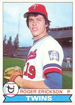 1979 Topps #81 Roger Erickson RC