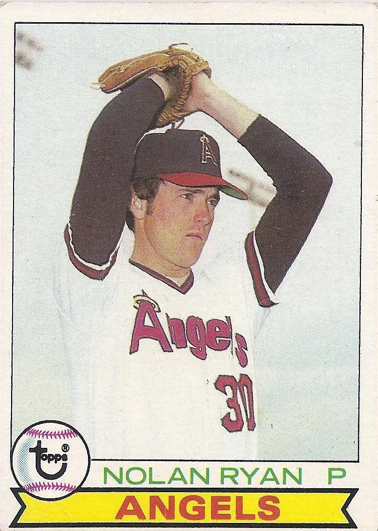 1979 Topps #115 Nolan Ryan
