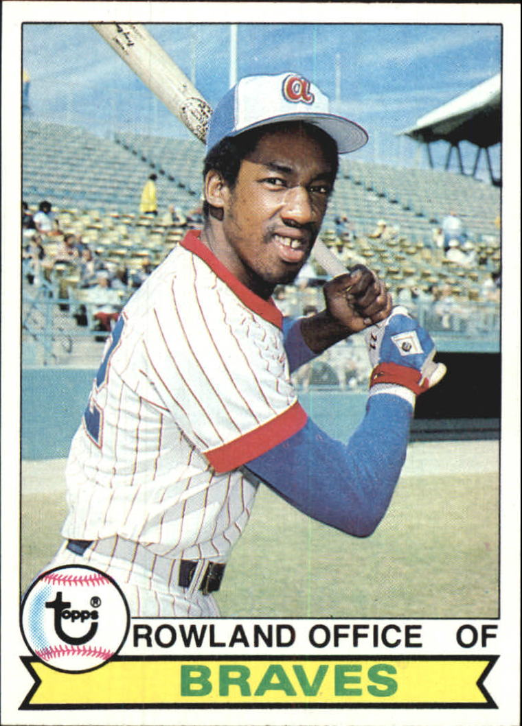 1979 Topps #132 Rowland Office