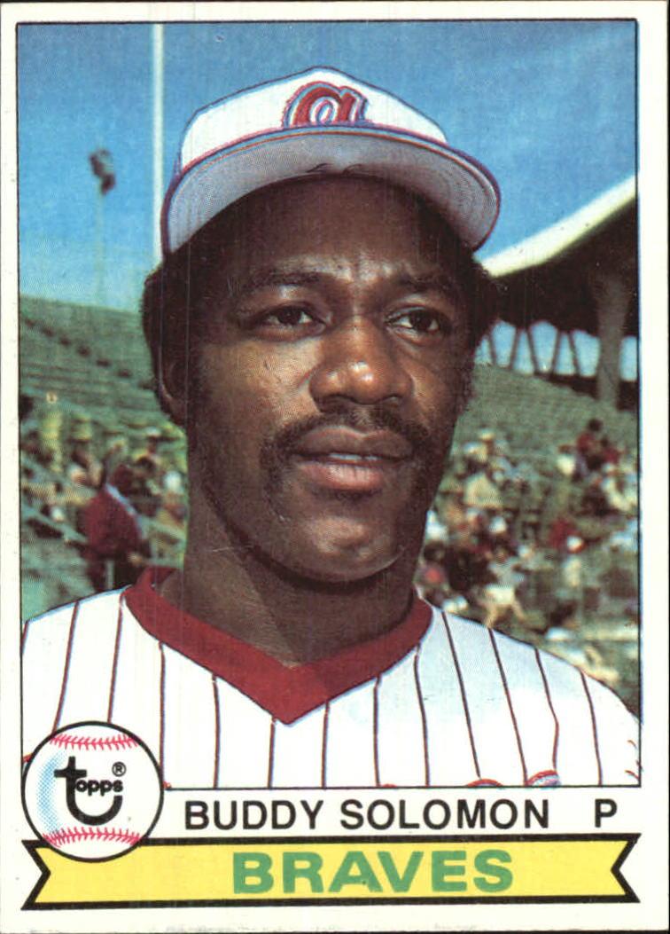 1979 Topps #156 Buddy Solomon
