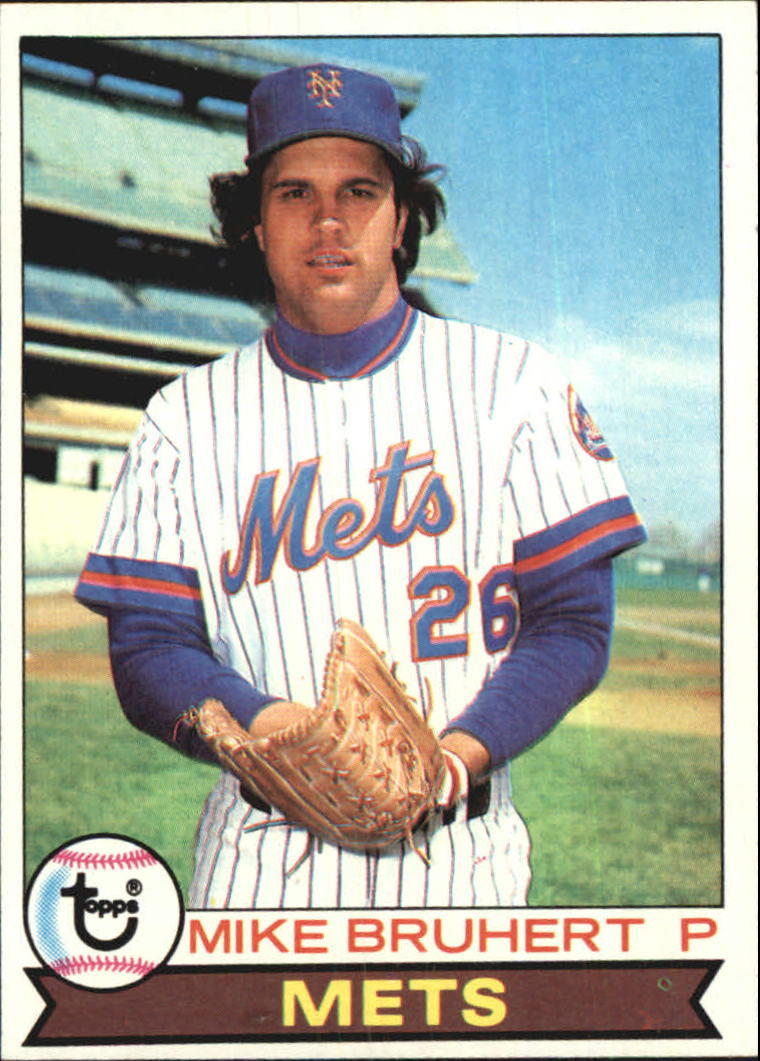 1979 Topps #172 Mike Bruhert RC