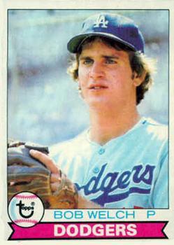 1979 Topps #318 Bob Welch RC