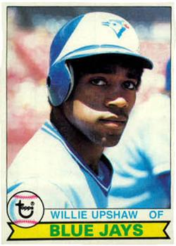 1979 Topps #341 Willie Upshaw RC