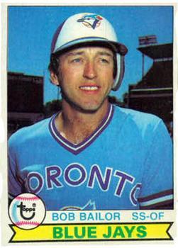 1979 Topps #492 Bob Bailor