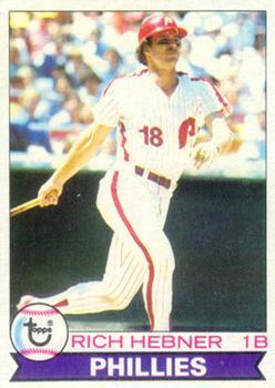 1979 Topps #567 Richie Hebner