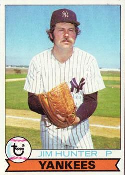 1979 Topps #670 Jim Hunter DP