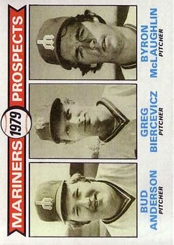 1979 Topps #712 Bud Anderson RC/Greg Biercevicz RC/Byron McLaughlin RC