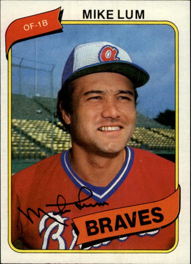 1980 Topps #7 Mike Lum