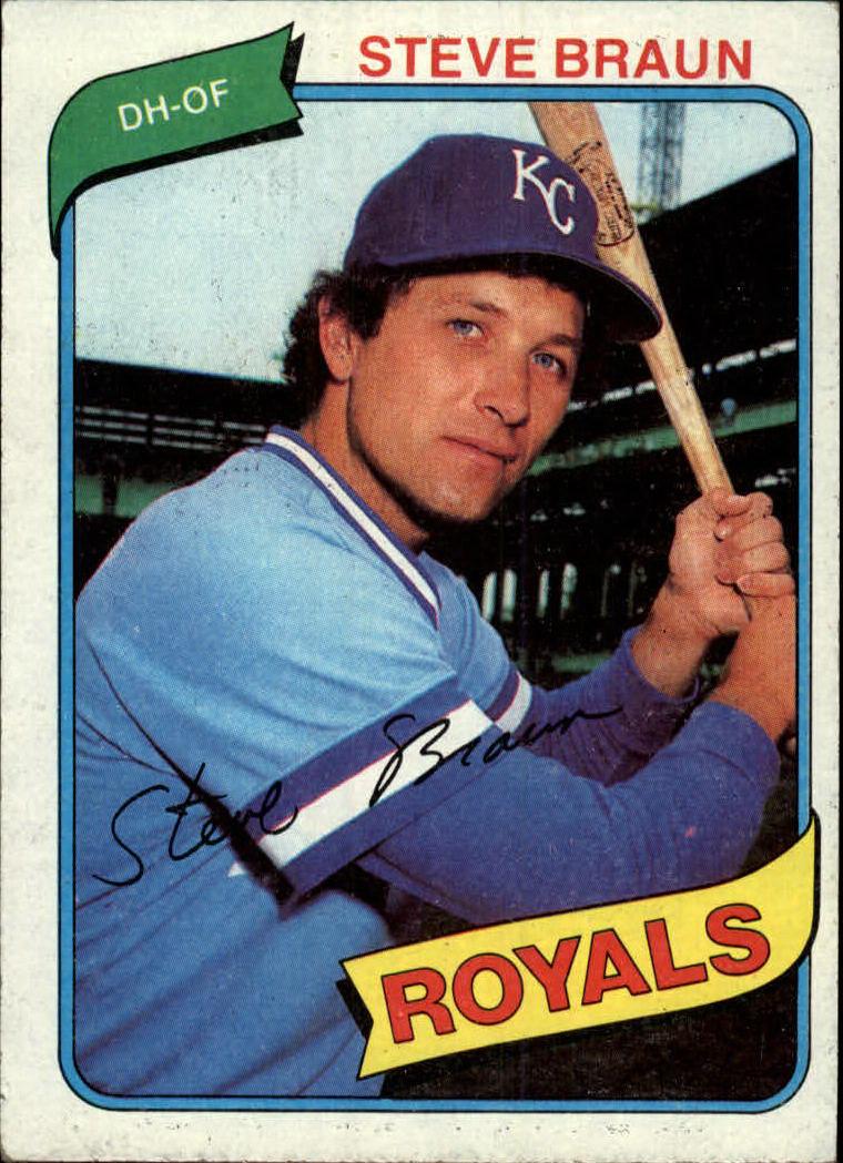 1980 Topps #9 Steve Braun