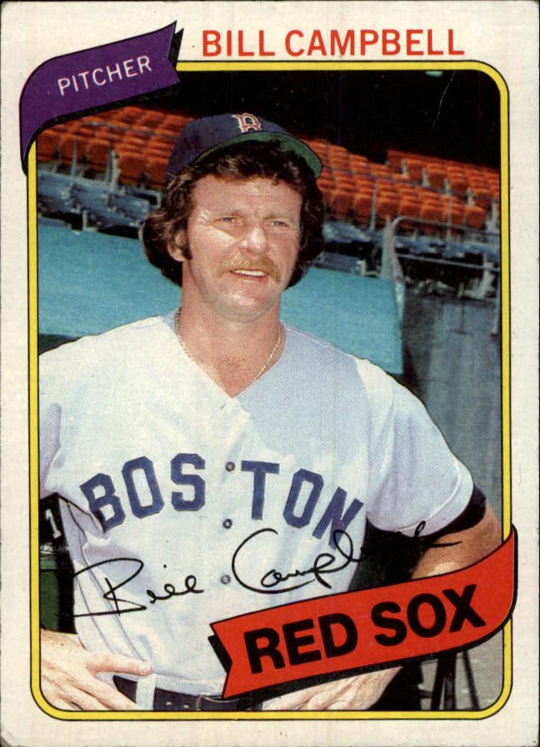 1980 Topps #15 Bill Campbell