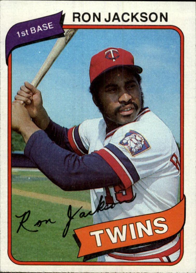 1980 Topps #18 Ron Jackson