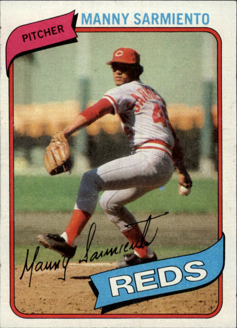 1980 Topps #21 Manny Sarmiento