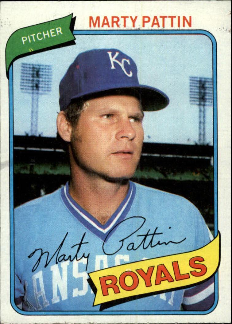 1980 Topps #26 Marty Pattin