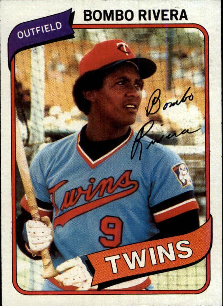 1980 Topps #43 Bombo Rivera