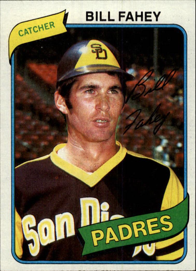 1980 Topps #44 Bill Fahey