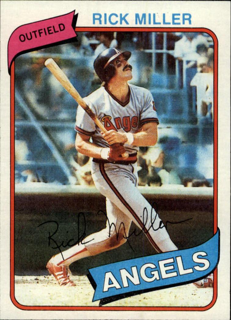 1980 Topps #48 Rick Miller