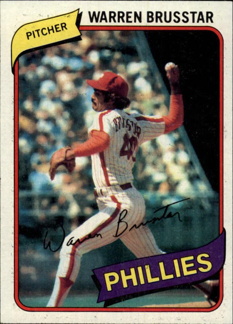 1980 Topps #52 Warren Brusstar