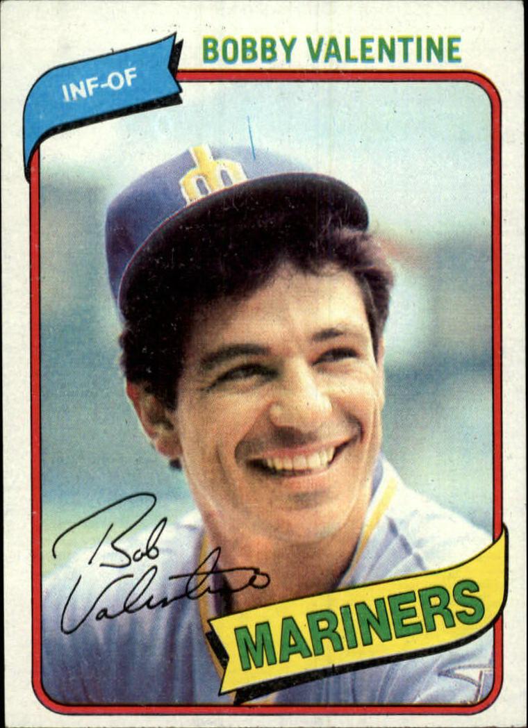 1980 Topps #56 Bobby Valentine
