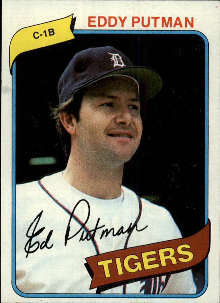 1980 Topps #59 Eddy Putman RC