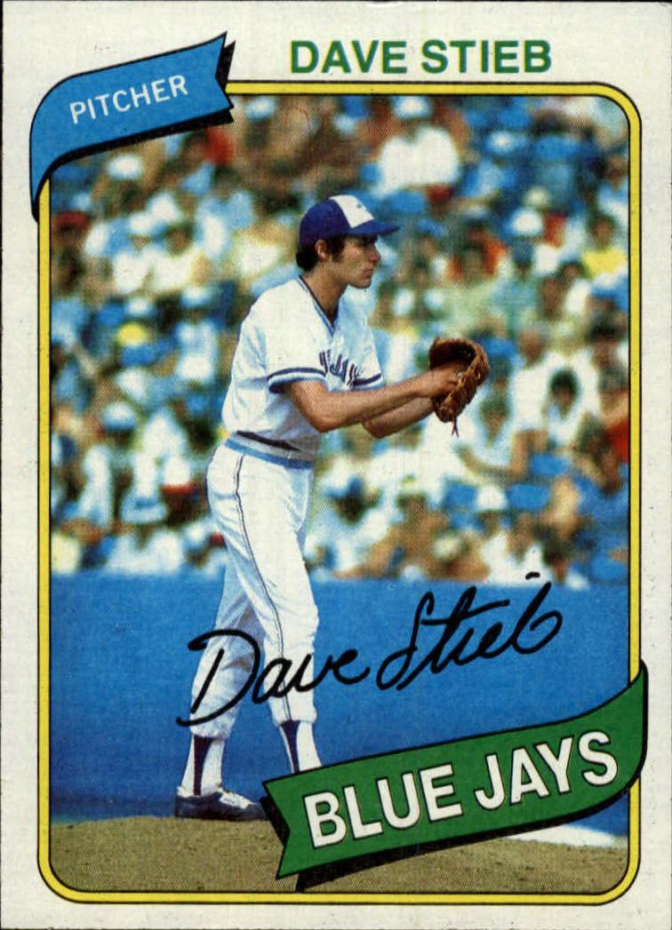 1980 Topps #77 Dave Stieb RC