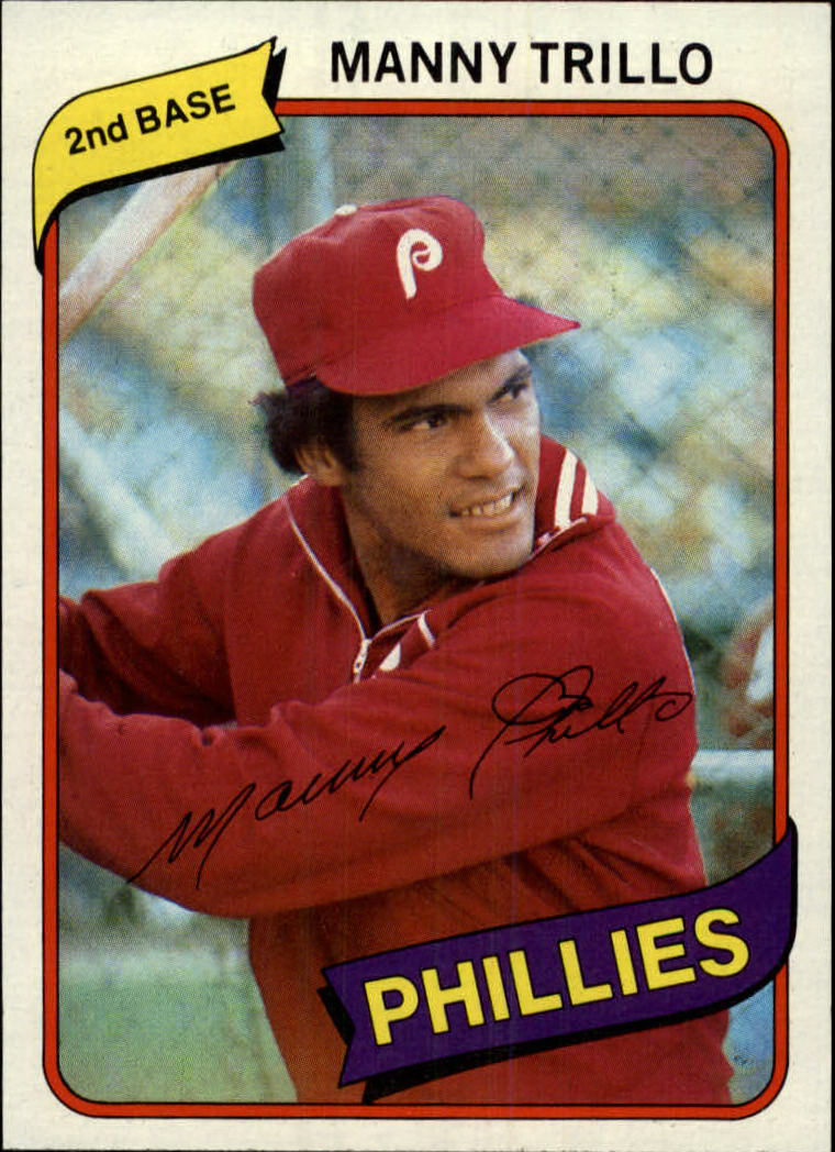 1980 Topps #90 Manny Trillo