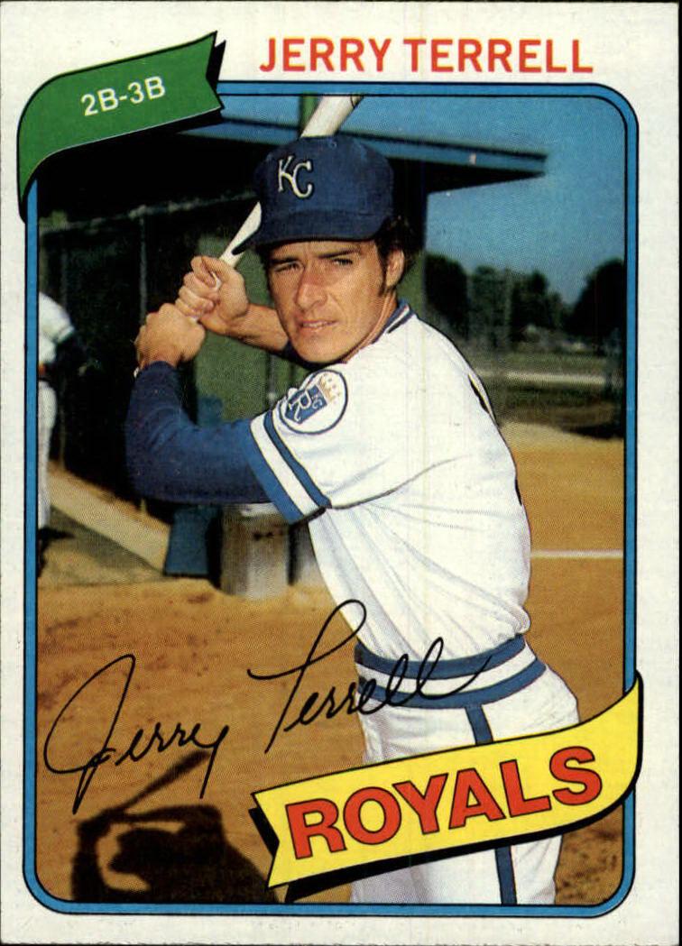 1980 Topps #98 Jerry Terrell