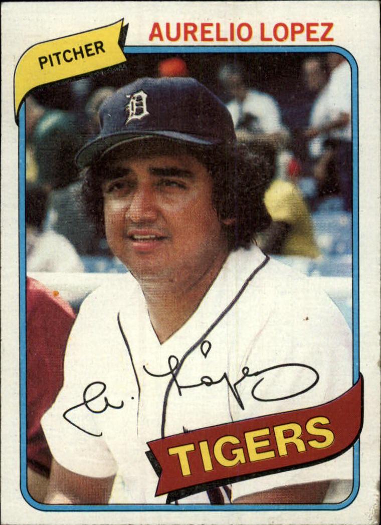 1980 Topps #101 Aurelio Lopez
