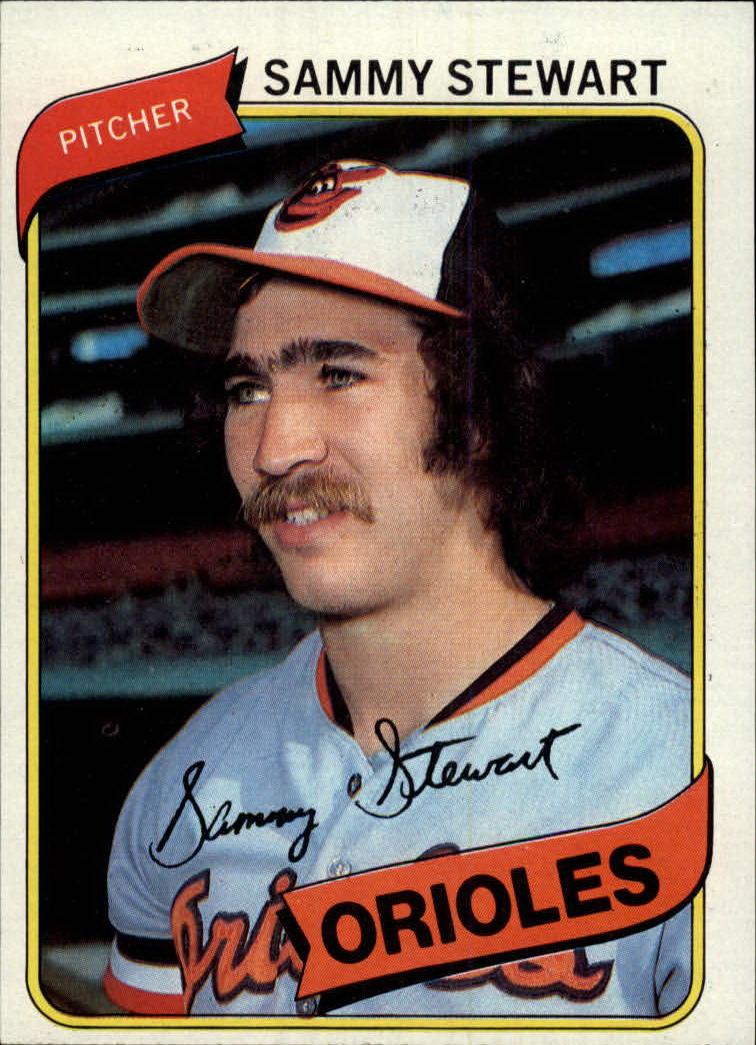 1980 Topps #119 Sammy Stewart
