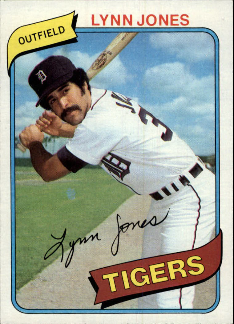 1980 Topps #123 Lynn Jones RC