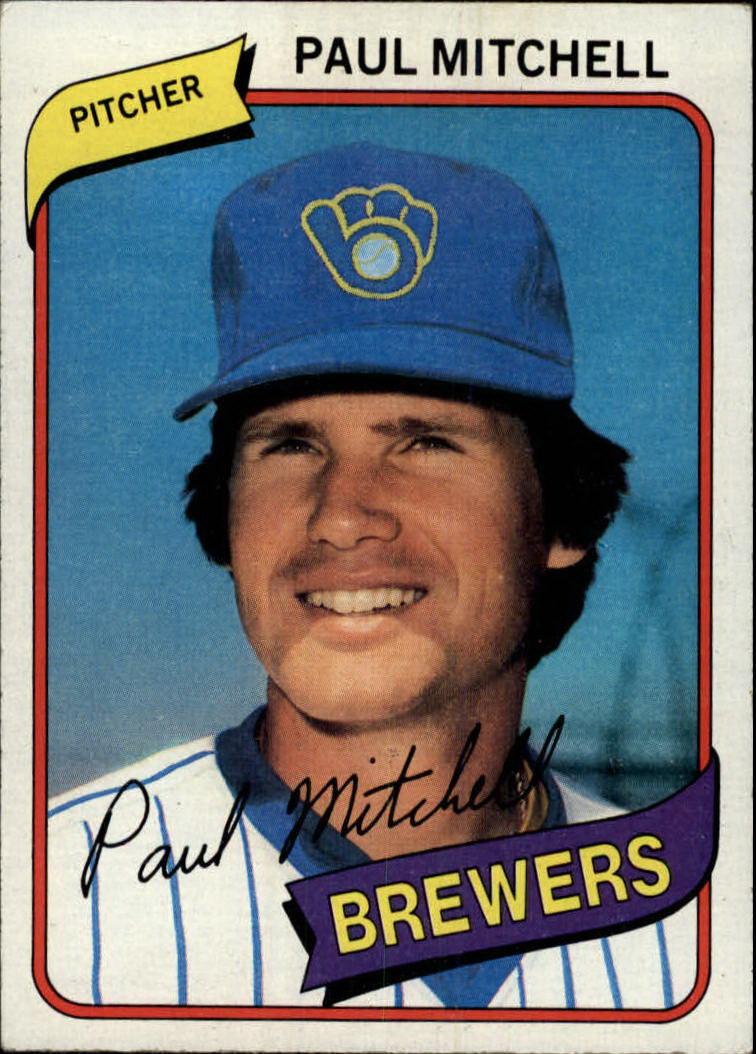 1980 Topps #131 Paul Mitchell