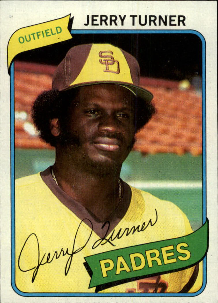 1980 Topps #133 Jerry Turner