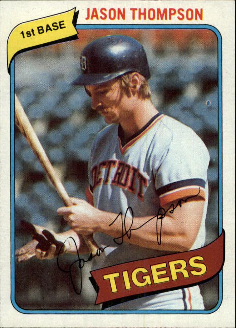 1980 Topps #150 Jason Thompson