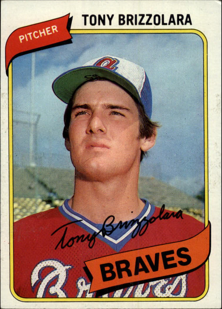1980 Topps #156 Tony Brizzolara RC