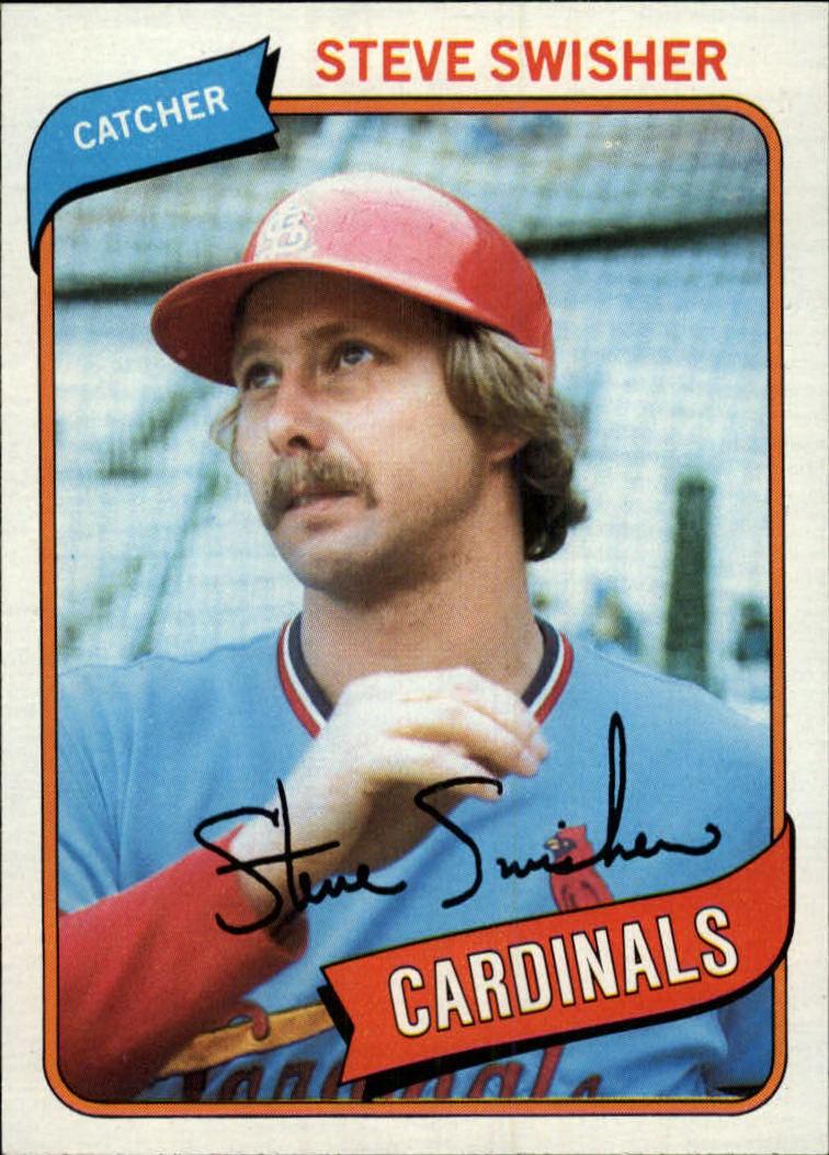 1980 Topps #163 Steve Swisher