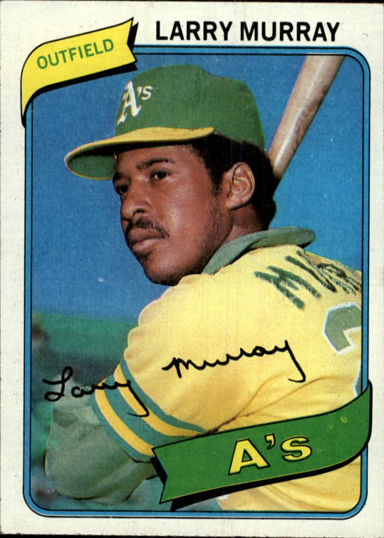 1980 Topps #284 Larry Murray DP RC
