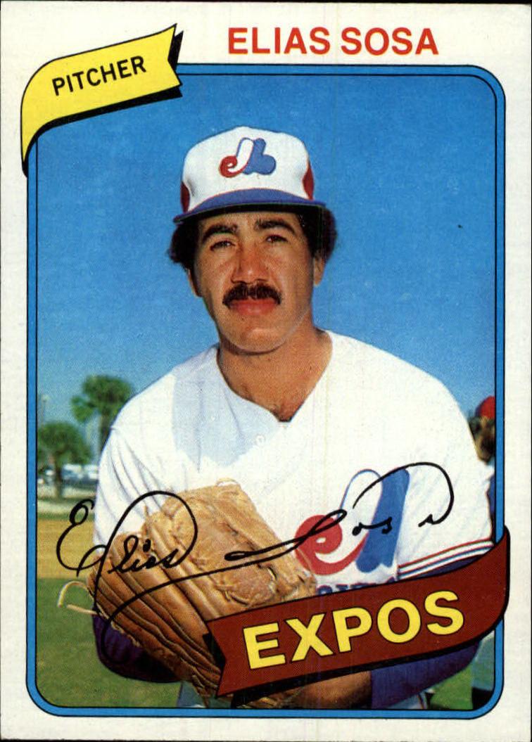 1980 Topps #293 Elias Sosa