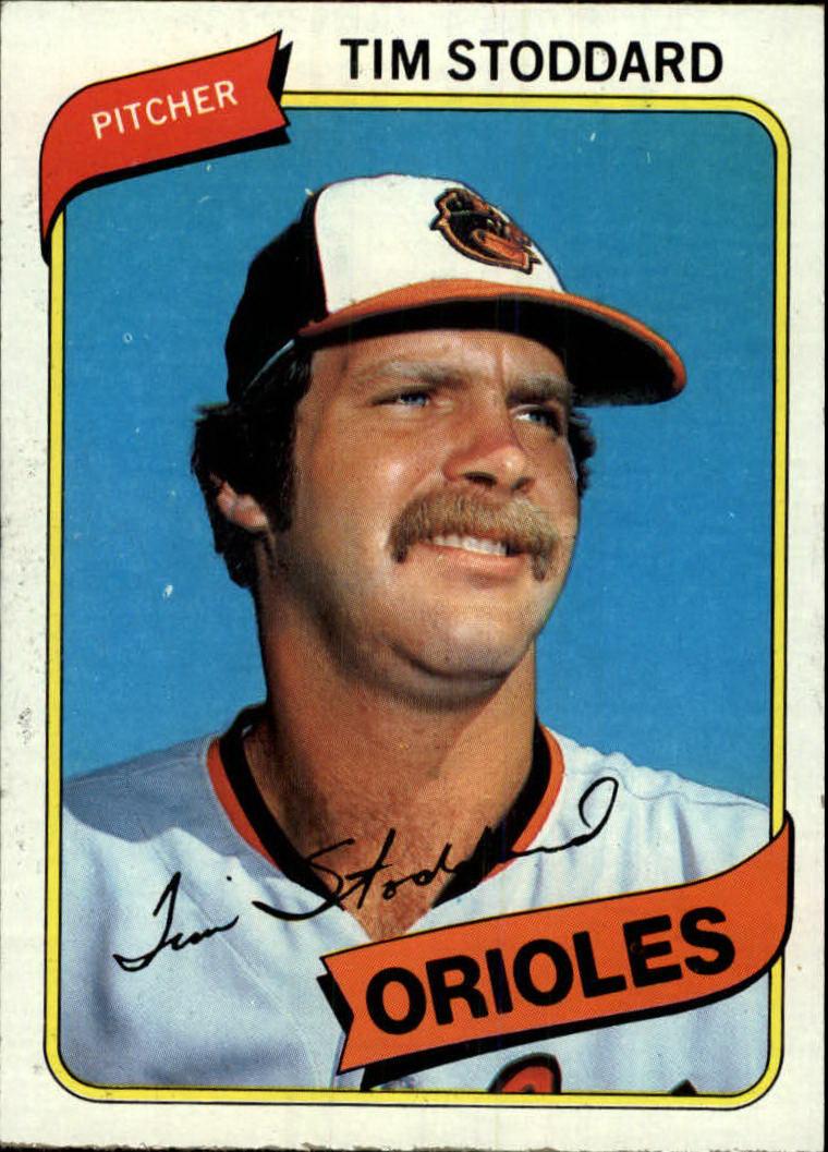 1980 Topps #314 Tim Stoddard RC