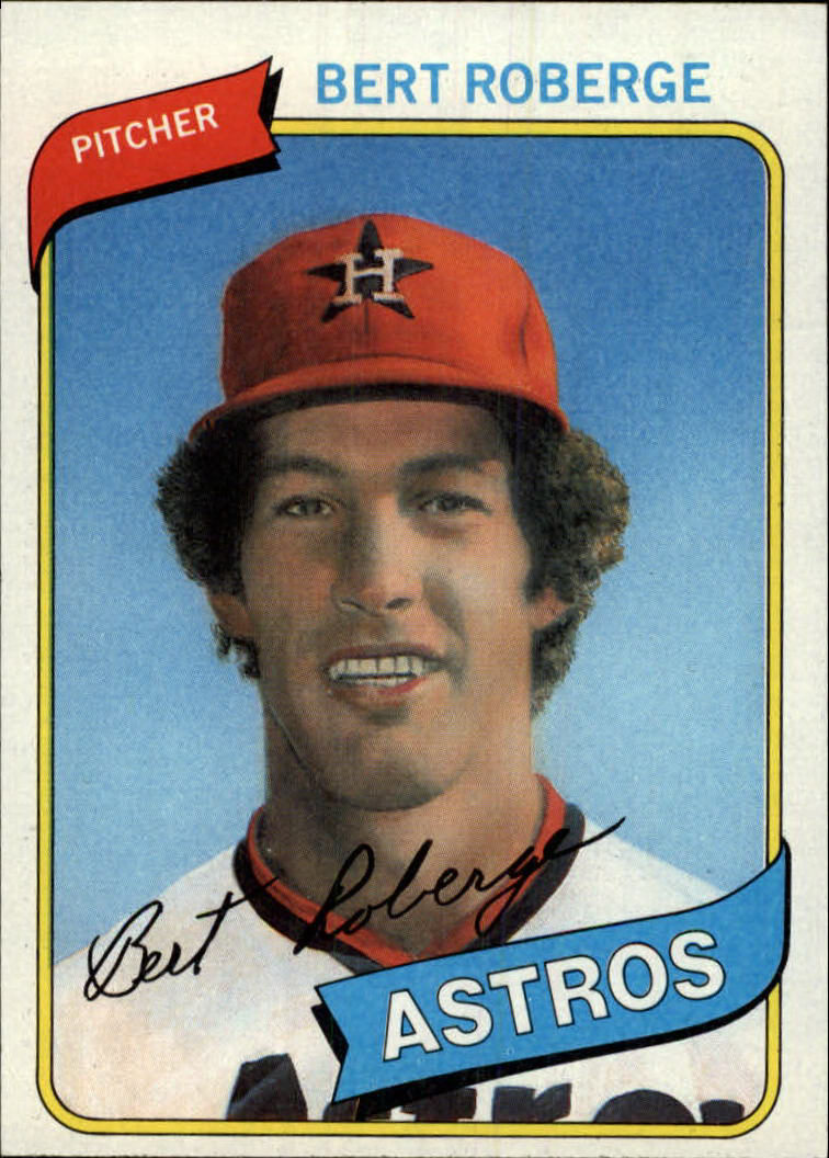 1980 Topps #329 Bert Roberge RC