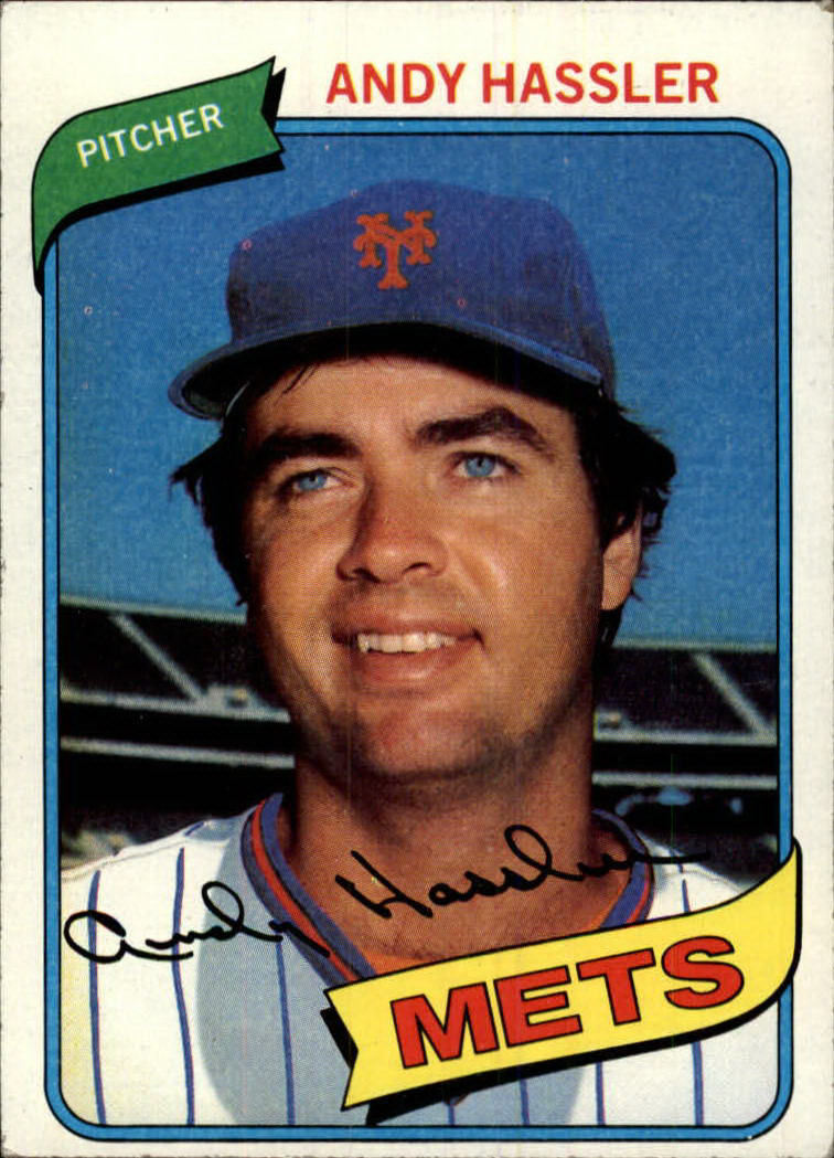 1980 Topps #353 Andy Hassler