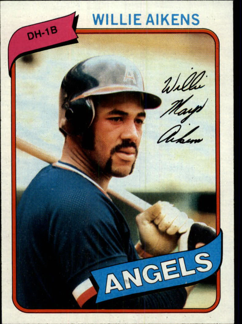 1980 Topps #368 Willie Aikens RC