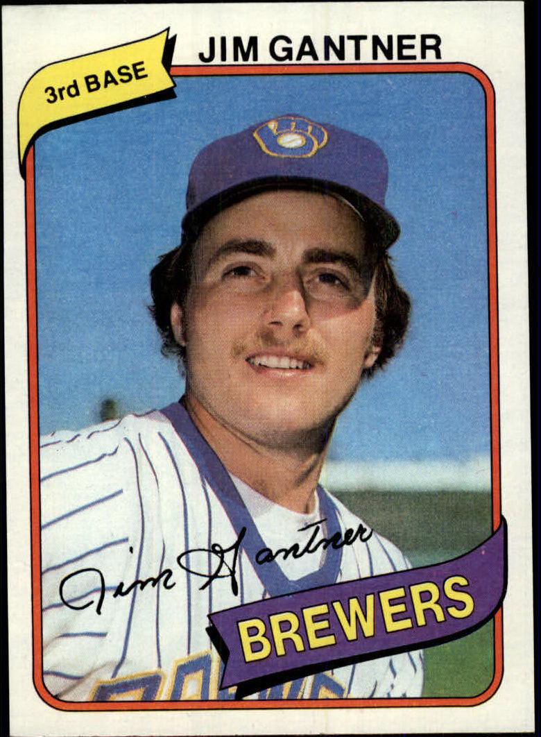 1980 Topps #374 Jim Gantner