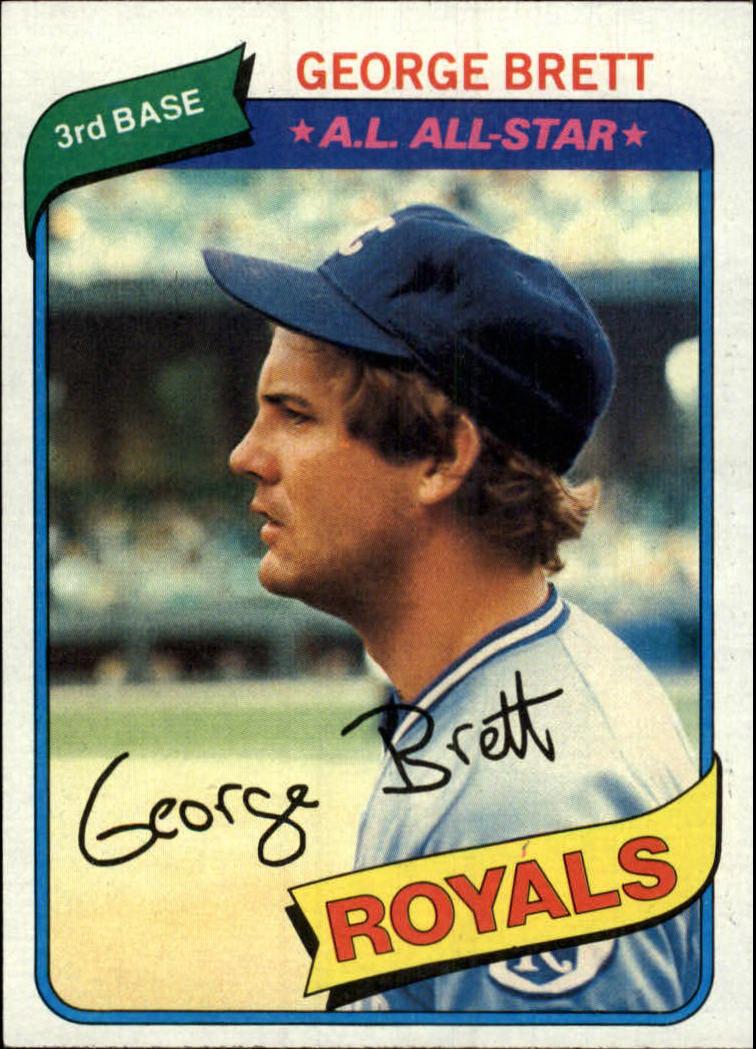 1980 Topps #450 George Brett