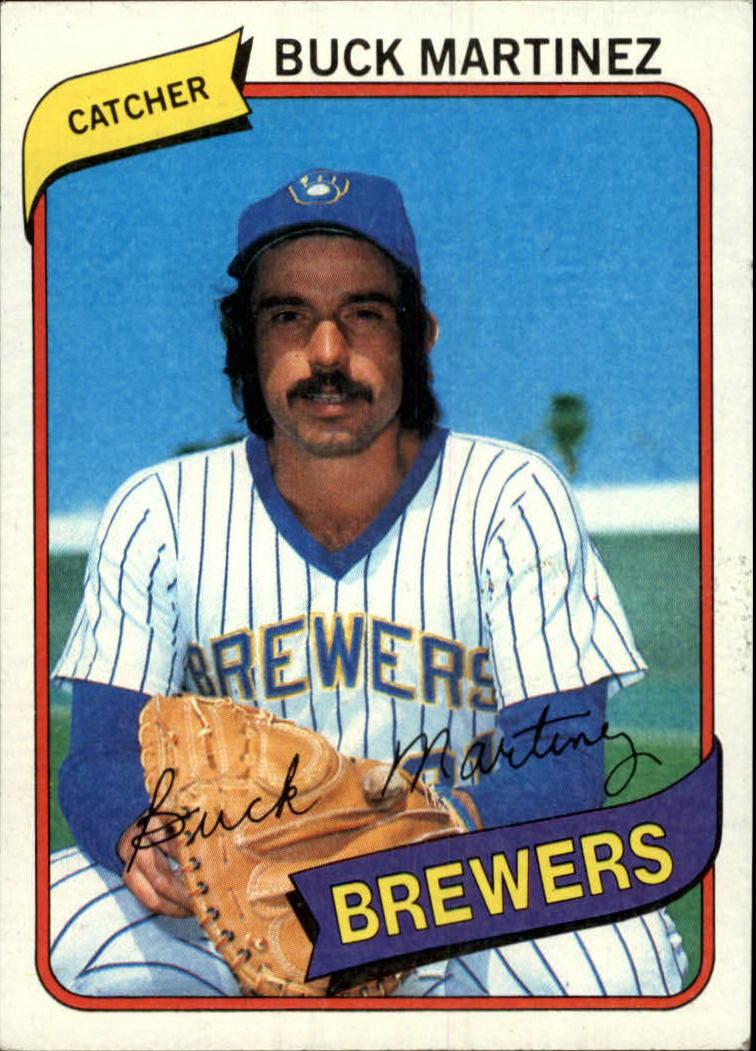 1980 Topps #477 Buck Martinez