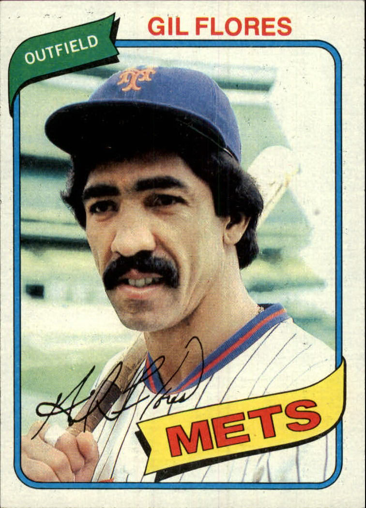 1980 Topps #478 Gil Flores