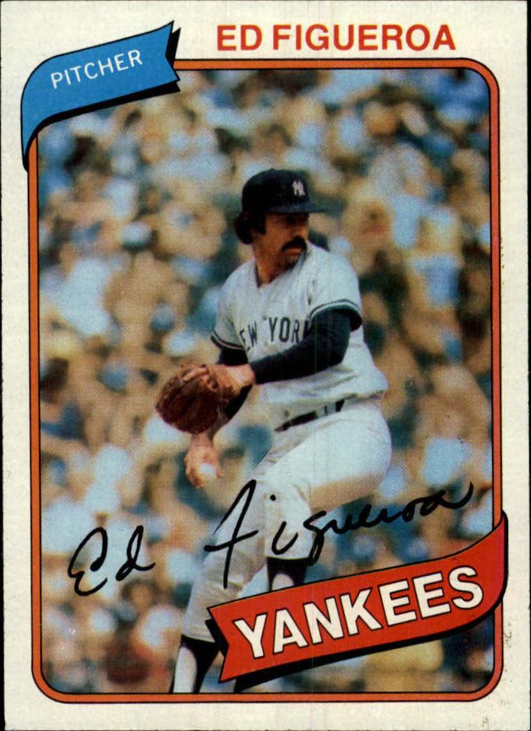 1980 Topps #555 Ed Figueroa