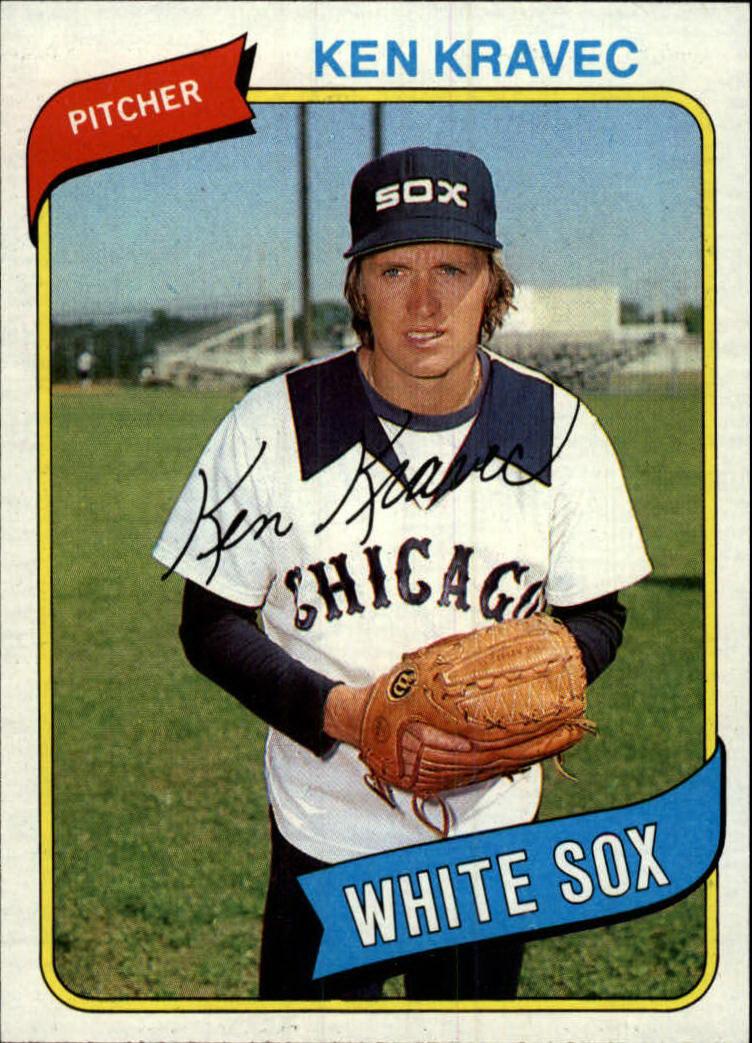 1980 Topps #575 Ken Kravec